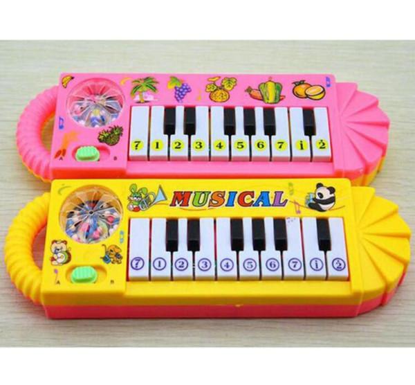 Çocuk Mini Elektronik Klavye Taşınabilir Akıllı Müzik Oyuncak Elektronik Klavye Erken Eğitim Aracı Ücretsiz Kargo