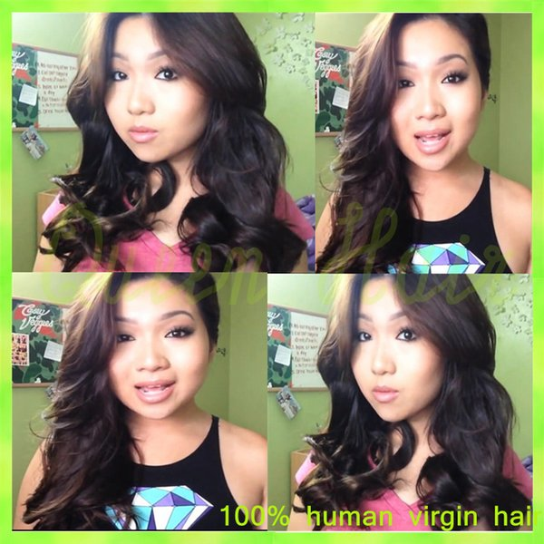 100% Unprocessed Glueless Full Lace Human Hair Wigs & Front Lace Wigs Natural Hairline Virgin Human Hair Wigs for Black Women