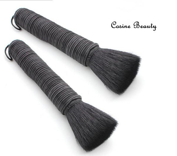 Brand 100 %Goat Hair makeup brushes Professional High Quality Rattan Powder Makeup Brush Kabuki Blush Powder Cosmetic 27 #Brush