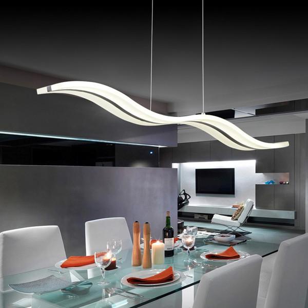 Acquista 38 W Moderne Lampade A Sospensione Sala Da Pranzo Soggiorno  Ristorante Luci Della Cucina AC85 260V Apparecchio Sospensioni Lampade A ...