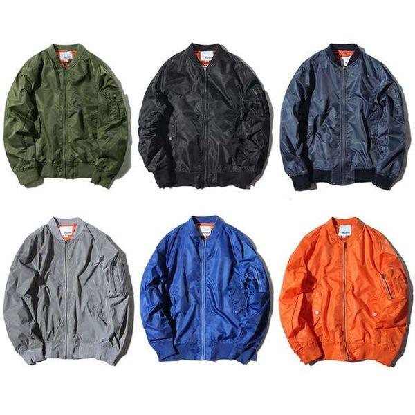 Giubbotto bomber Air Force MA1 plus size abbigliamento da baseball urbano uomo / donna cappotti invernali hip hop streetwear giacche