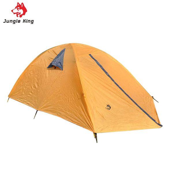 Wholesale- Glass Fiber Fiberglass Rod Camping Tent For Outdoor Travel Hiking Climbing Picnic Beach Tent Rainproof Windproof Waterproof New