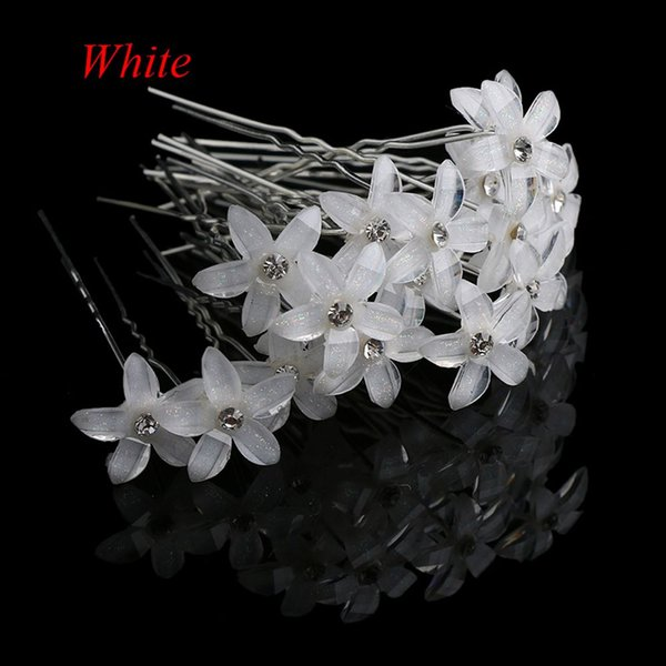 1f8f71c880da3 Flower Crystal Rhinestone Hairpins Hair Clips Women Wedding Bridal Jewelry  Bride Headdress Hair Accessories Hair Decorations For Wedding Decorative ...