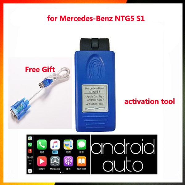 top popular for Mercedes-benz NTG5s1 NTG5 s1 Carplay&Android Auto OBD Activator Tool For Iphone5 6 7 8 for mb star c4 Carplay 2019