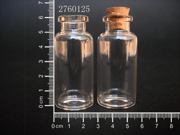Atacado-10 pcs 20 ml 27x60mm Pequeno Frasco De Vidro Transparente Pingente Com Cortiça e Gancho Para Decoração de Férias de Casamento Presentes de Natal