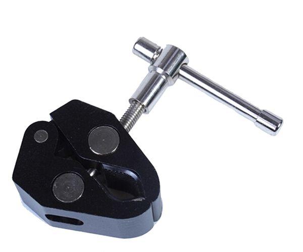 F14411 Einstellbare Reibung Articulating Magic Arm Super Clamp Krabben Große Zangen Clip für DSLR Kamera Monitor LED Studio Licht + FS