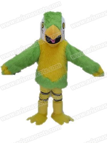 AM9219 Adult Size Parrot mascot costume Birds Mascots for Advertising Character Design Arismascots Deguisement Mascotte Carnival Outfits