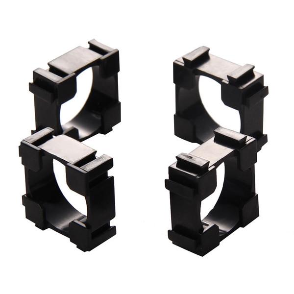 100pcs 18650 Battery Holder Bracket Cylindrical Battery Holder 18650 Li-ion Cell Holder Safety Anti vibration 18650 Plastic Case