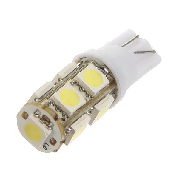 T10 9 SMD Car Light 5050 Wedge Side Marker Corner Led Bulbs 10pcs lot W5W Car light