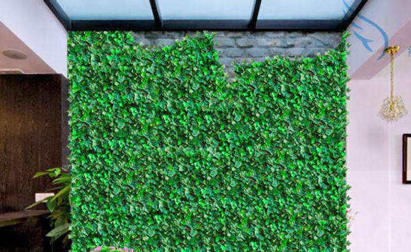 80CM 2pcs/lot Bar Restaurant Decoration Artificial Plastic Simulation Climbing Vines Green Leaf Ivy Rattan Home Decor plants
