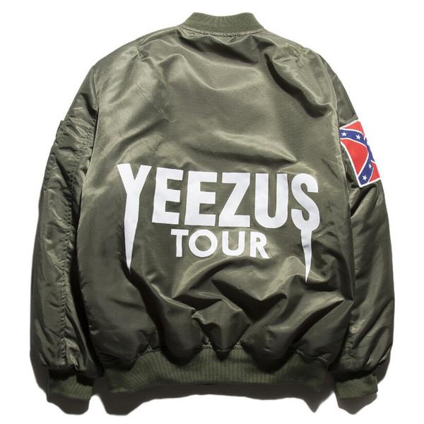 Großhandel Kanye West Jacke Klassische Herren Mäntel