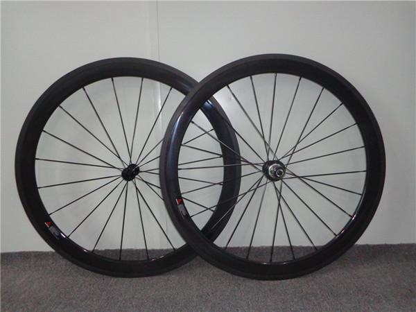 Carbon Bike Wheels 38mm 50mm 60mm 88mm Clincher or Tubular Carbon Wheels for Road Bike 23mm Wide Powerway R13 Light Hub