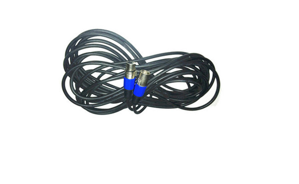 Wholesale-10M DMX signal line, dj lights 3 pin connector DMX cable professional stage lighting