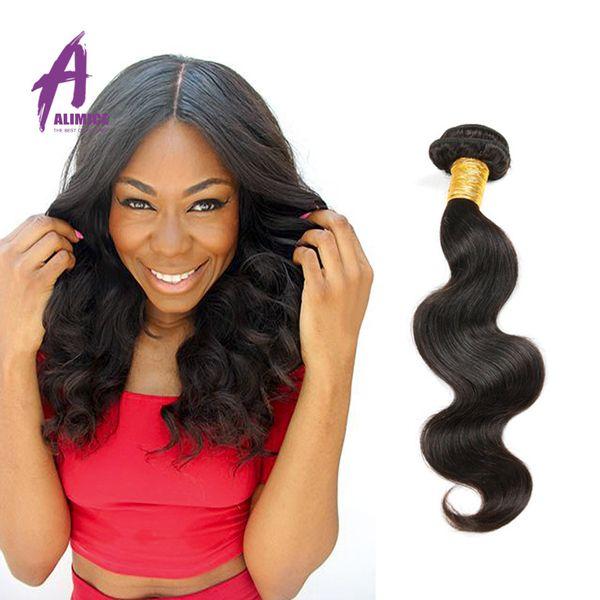 Brazilian virgin hair body wave 100g/pcs 1 pcs/lot unprocessed 6A human rosa hair products Brazilian virgin hair body wave