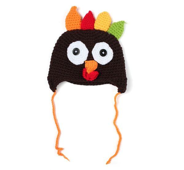 ef2c4651643 fashion baby crochet turkey hat kids animal winter caps children knit  earmuffs beanie hats toddler baby bonnet photography props accessories