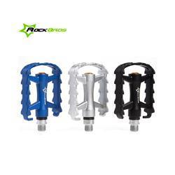 "RockBros MTB BMX Folding Bike Parts Axle 9/16"" Aluminium Body Steel Spindle Cycling Seal Cartridge Bearing Bicycle Pedal,3 Color"