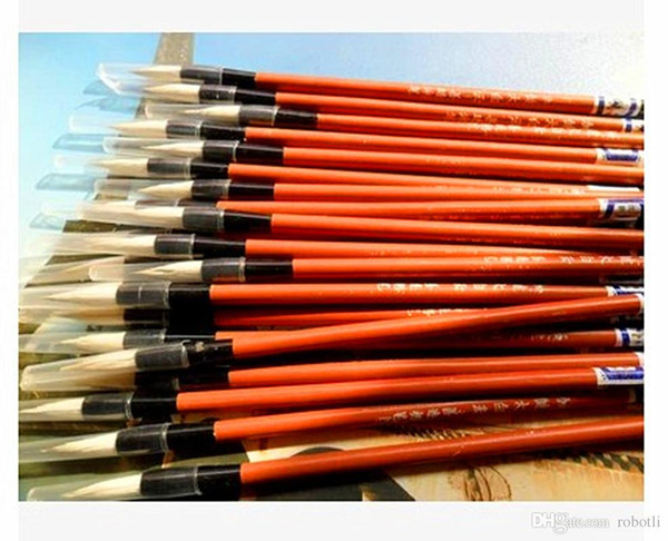 """top popular Goat hair brush, Chinese calligraphy, calligraphy supplies, the """"scholar's four jewels"""", beginners brush 2021"""