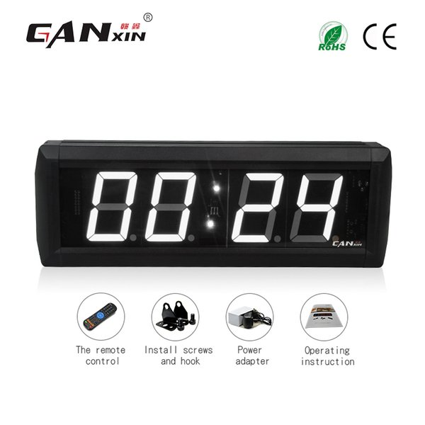 [Ganxin] 2.3 inch LED clock Studio Fitness & Fight Wall Timer countdown and count up ,and stopwatch clock