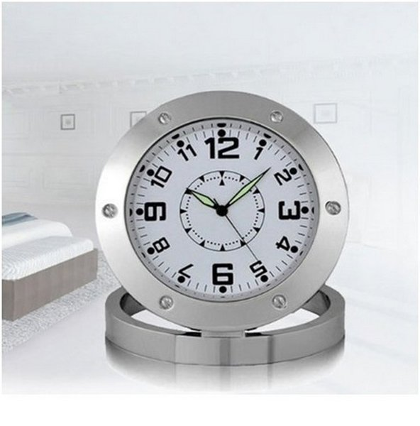 buy spy nanny clock cam 640*480 vga hidden bathroom camera motion
