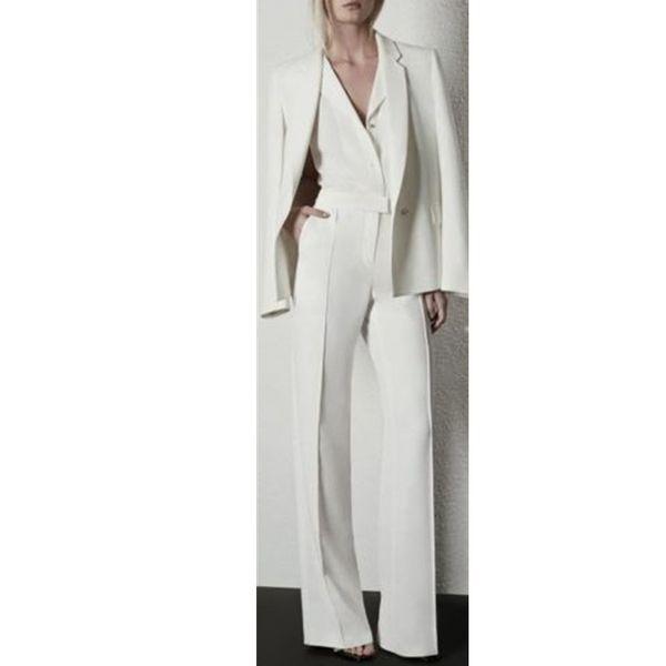 Ручной работы женщин Дамы на заказ бизнес офис смокинги рабочая одежда Костюмы 2 шт. (куртка + брюки) на заказ
