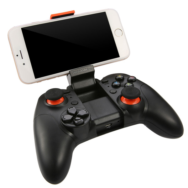 RK Game 4th Bluetooth 4.0 Gamepad Wireless Joystick Dual Mode Support For IOS For Android Game Controller Joypad Free Shipping