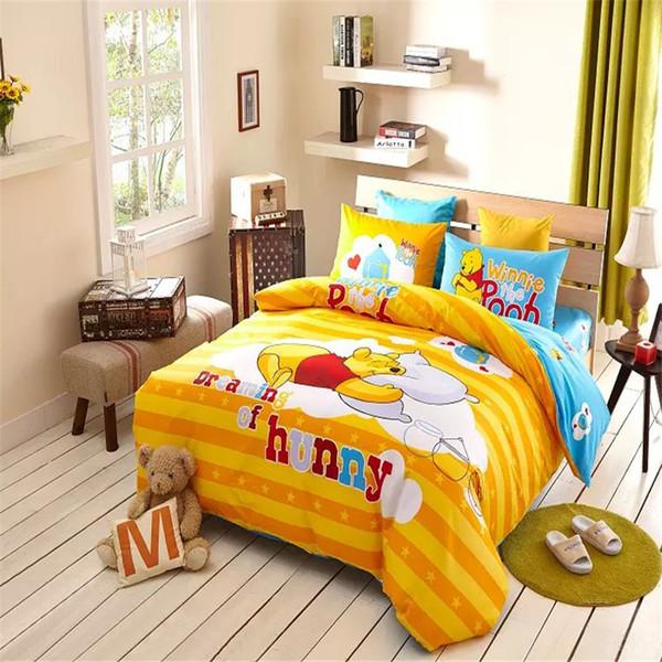 Großhandel Cozy Tigger Und Winnie Pooh Bettwäsche Winnie Pooh