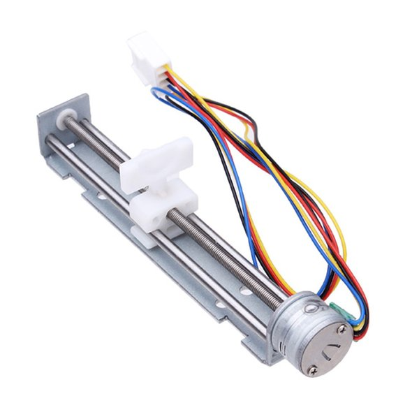 Universal High Speed DC 4-9V Drive Stepper Motor Screw With Nut Slider 2 Phase 4 Wire Lead MAC_02N