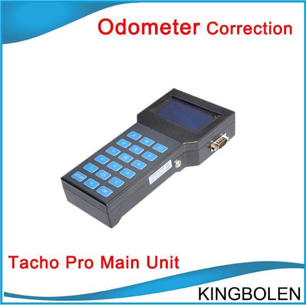 Correzione dell'odometro Super Tacho Pro 2008 Strumento di correzione del chilometraggio Unità principale solo con DHL Spedizione gratuita