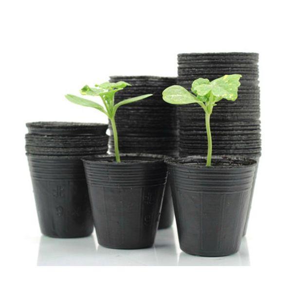 100 pcs Nursery Pots Seedling-raising Pan Feeding Block Nutrition Pan Garden Supplies Free shipping Size 10*10