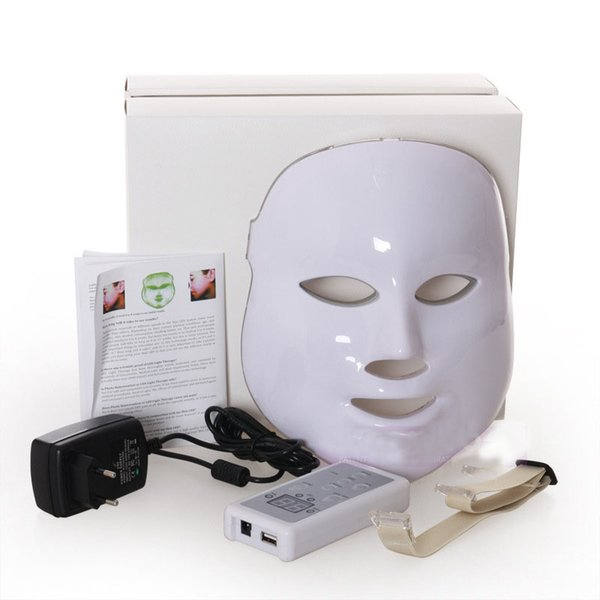 PDT LED Light Anti Aging Ance Killer Light Therapy Wrinkles Facial Mask Portable Beauty Machine for Skin Rejuvenation and 7 colors