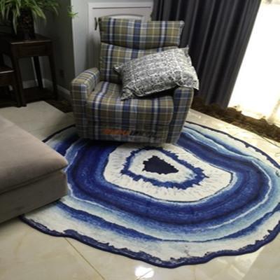 Dia31 5inch Floor Rug Mats Round For Living Room Decoration Carpet