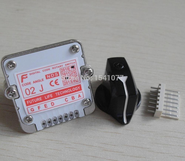 Taiwan Future Rotary Switch Encoder NDS02J band switch cnc Rotary Encoder Switch cnc lathe Accessories selector switch wholesale