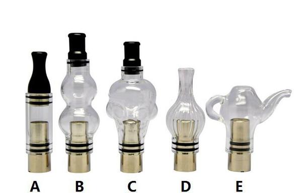 New Wax Glass Gourd vase skull Atomizers Glass Atomizers Oil Dome Globe Wax Vaporizer Globe Bulb Atomizer for Wax Vaporizer