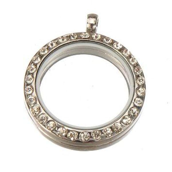 Encantos medalhões pingentes colares de cristal de metal momory ímã vivendo coruja original flutuante branco K slide new diy moda 35 * 30mm 2 pcs