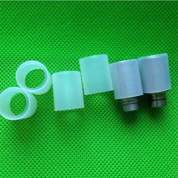 Boquilla desechable para Aspire Atlantis punta del tanque de prueba del atomizador para Aspire Atlantis bvc bobina atomizador vaporizador probador cubierta de silicona