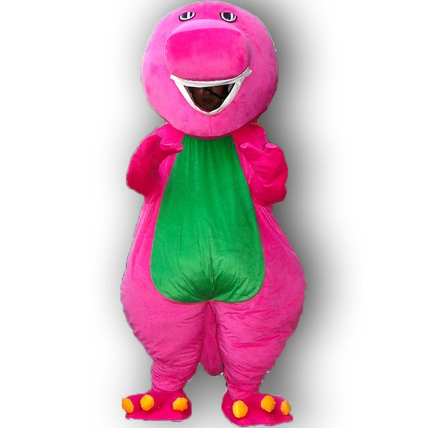 top popular Barney mascot costume adult size barney mascot costume free shipping 2020