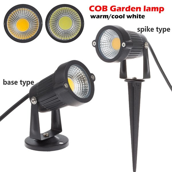 20X New Style Outdoor COB Garden Spike Light 12V 3W 5W COB LED Lawn Lamp  Pond