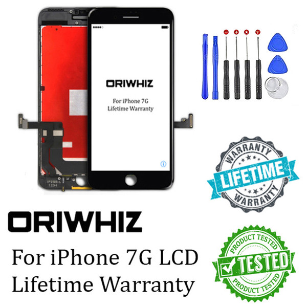 Bigge t di count for iphone 7 7g lcd creen di play touch digitizer complete a embly replacement with gift tool kit 1pc epacket
