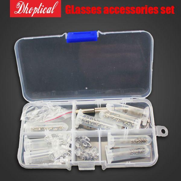 Screw Nut Nose Pad Screwdriver Set Optical Repair Tool Assorted Kit Set For Eyeglass Sun Glass eyeglasses accessories Free Shipping SB010