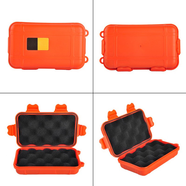 wholesale Outdoor Sport Gear Shockproof Waterproof Box Sealed Box EDC Tools Wild Survival Storage Box Free shipping