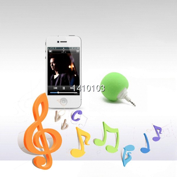Multi-Color Creative Wireless Mini Ball Speaker Balloon Mobile Audio Docks Cute Music Ball Player For iPhone for Samsung