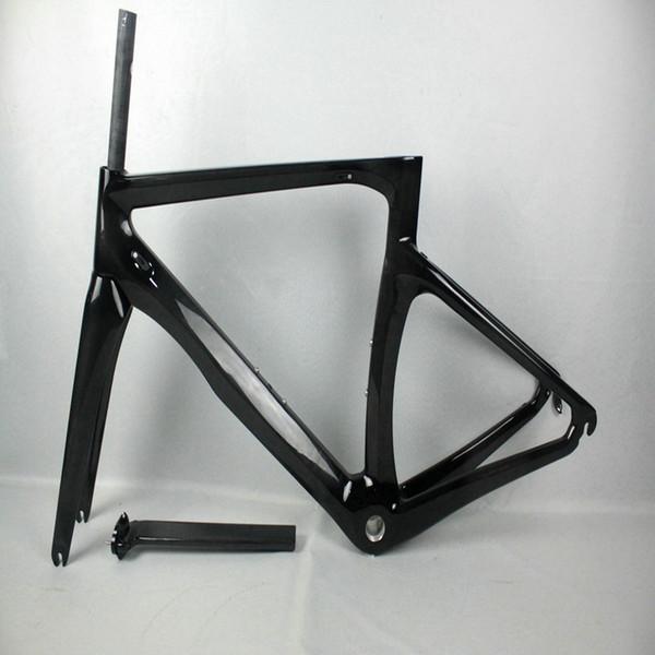 2018 1K/3K OEM Carbon Cipollini RB1K Frame Blue Carbon ROAD Bike/Bicycle Frameset Fork+ Seatpost+ Clamp+ Headset