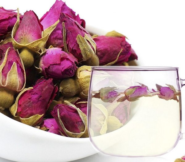 Natural Pingyin Rose Tea,Chinese Rose Queen Rose Buds Dried Flower 300g/lot ft-028 wholesale