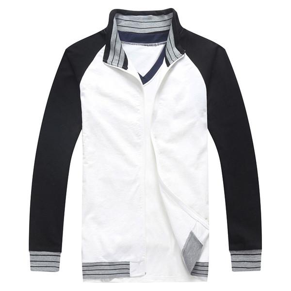 best selling 2014 New Free Shipping Fate Zero stay Night Cosplay Shirou Emiya Pure Cotton black and white Coat  Jacket