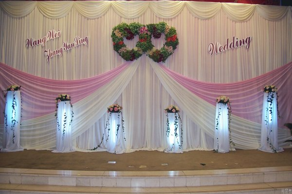 New arrival 3m high x6m width wedding backdrop swag curtain new arrival 3m high x6m width wedding backdrop swag curtain background party event wedding decoration backdrops junglespirit Gallery