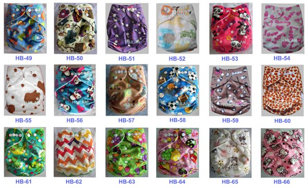 2015 Baby Washable One Size Cloth Nappy Reusable Pocket Diaper Inserts Available Suit 0-3 years 3-15kg One Size