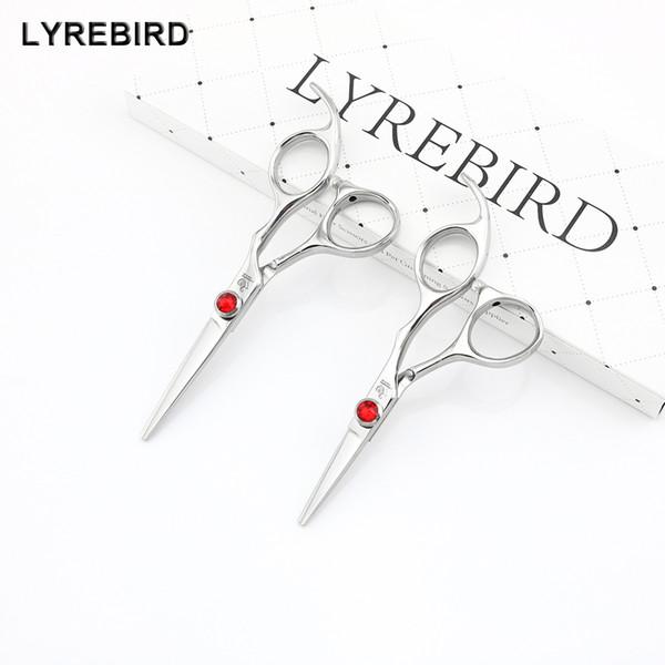 Lyrebird HIGH CLASS Hair scissors 440C Japan hair shears 4.5 INCH or 5 INCH Big red stone good quality NEW