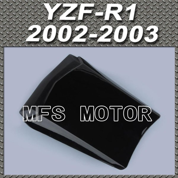 For YZF-R1 Motorcycle Rear Pillion All Black Injection ABS Seat Cowl Cover For Yamaha YZF-R1 2002-2003 02-03