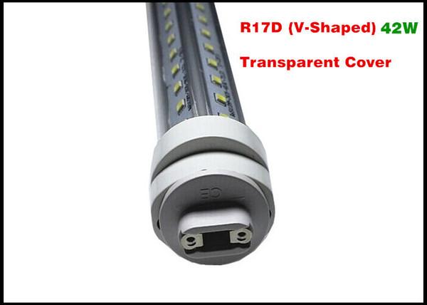 R17D (V-förmigen) Klarsichtdeckel