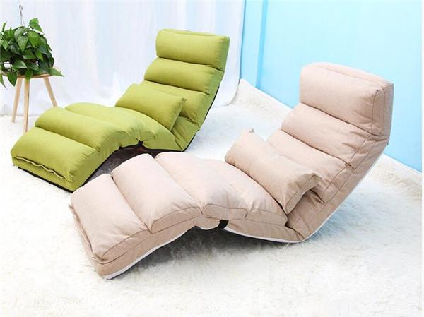 2019 Comfortable Folding Sofa And Lounge Chair For Living Room Bedroom  Furniture Foldable Reclining Chaise Lounge Couch Sofa Bed Sleeper From ...